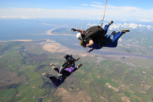 Tandem Skydive for One at Swansea Airport