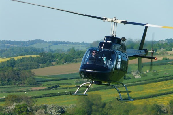 15 Mile Helicopter Flight for One and Bubbly