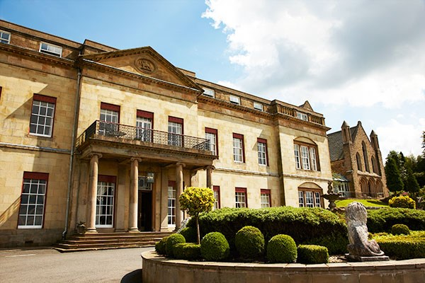 Spa Day with 55 Minute Treatment and Lunch for Two at Shrigley Hall Hotel