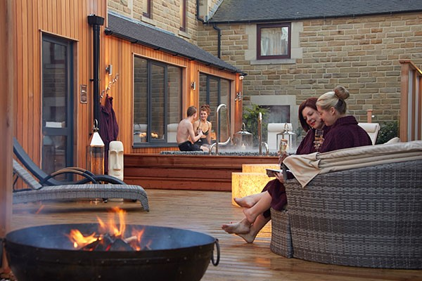 Pamper Spa Day at The Three Horseshoes Country Inn and Spa for Two
