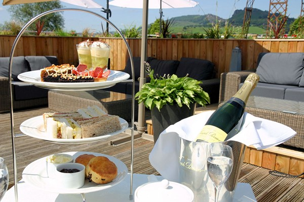 Pamper Treat and Afternoon Tea at Three Horseshoes Country Inn and Spa for Two