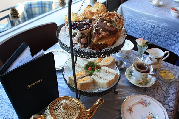 Afternoon Tea with a Glass of Champagne for Two at Jameson's Tea Rooms