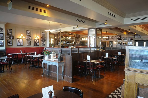 Three Course Meal and Sparkling Wine for Two at Café Rouge, Brighton