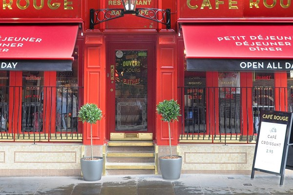 Three Course Meal and Sparkling Wine for Two at Café Rouge, Cambridge