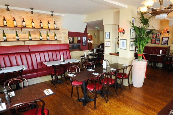 Three Course Meal and Sparkling Wine for Two at Café Rouge, Dorking