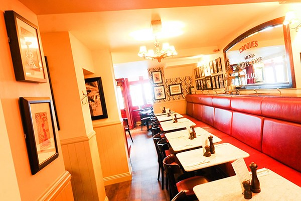 Three Course Meal and Sparkling Wine for Two at Café Rouge, Gerrards Cross