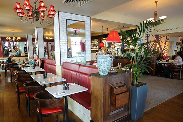 Three Course Meal and Sparkling Wine for Two at Café Rouge, Greenwich