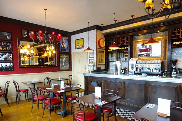 Three Course Meal and Sparkling Wine for Two at Café Rouge, Greenwich O2