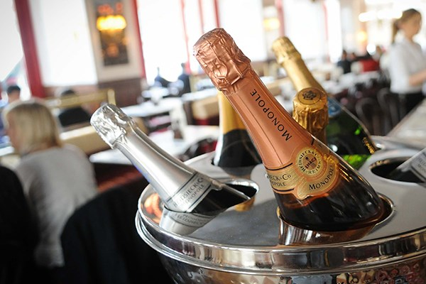 Three Course Meal and Sparkling Wine for Two at Café Rouge, Lakeside