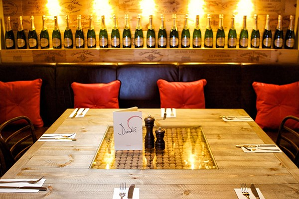 Three Course Meal and Sparkling Wine for Two at Café Rouge, Leamington Spa