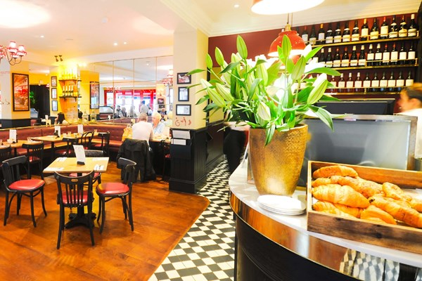 Three Course Meal and Sparkling Wine for Two at Café Rouge, Salisbury