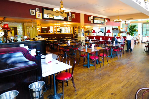 Three Course Meal and Sparkling Wine for Two at Café Rouge, Sheffield