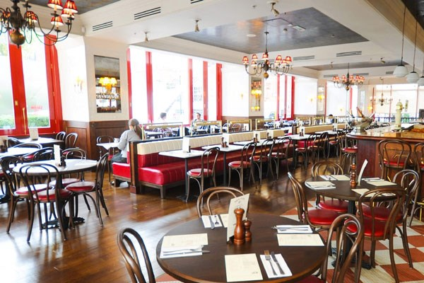 Three Course Meal and Sparkling Wine for Two at Café Rouge, St Pauls