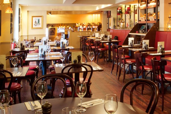 Three Course Meal and Sparkling Wine for Two at Café Rouge, Stratford upon Avon