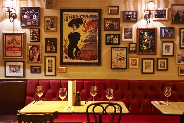 Three Course Meal and Sparkling Wine for Two at Café Rouge, Weybridge