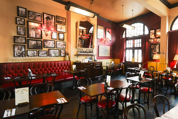 Three Course Meal and Sparkling Wine for Two at Café Rouge, Windsor
