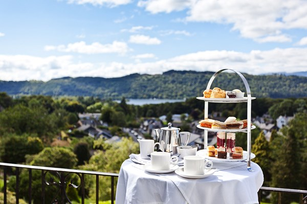Prosecco Afternoon Tea for Two at Hillthwaite