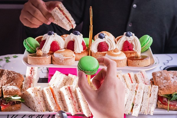 B Bakery Afternoon Tea London Bus Tour with Gin for Two