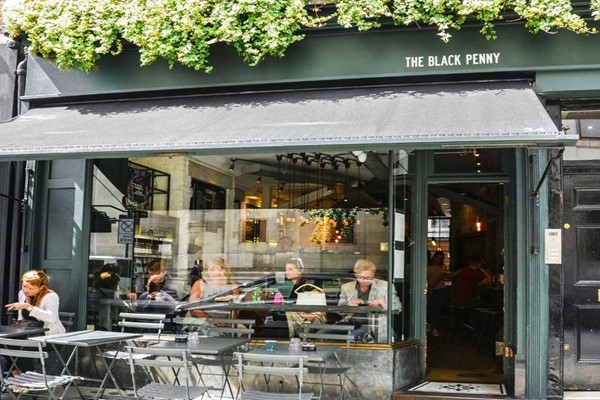 Two Course Brunch with Bottomless Bubbles for Two at The Black Penny