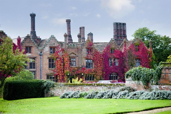 Three Course Meal for Two at Seckford Hall Hotel