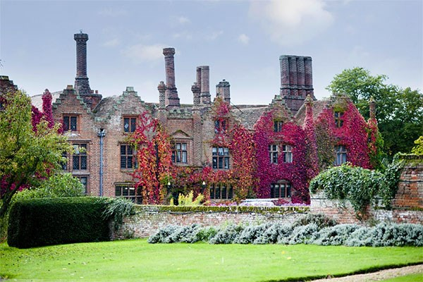 Sparkling Afternoon Tea at Seckford Hall Hotel for Two