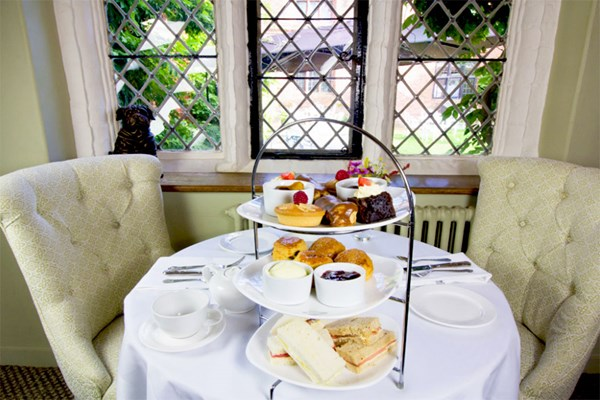Traditional Afternoon Tea at Seckford Hall Hotel for Two