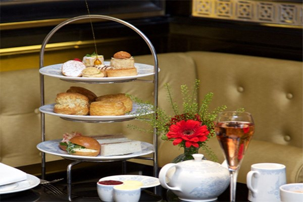 Afternoon Tea with a Glass of Champagne for Two at St James Hotel and Club