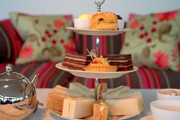 Champagne Afternoon Tea for Two at Polurrian Bay