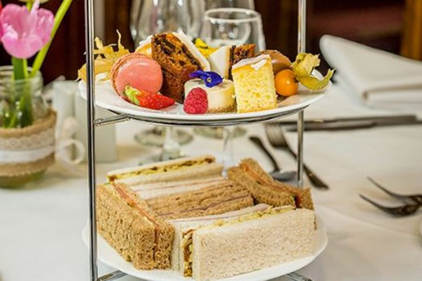 Afternoon Tea with Bubbles for Two at Castle Bromwich Hall Hotel
