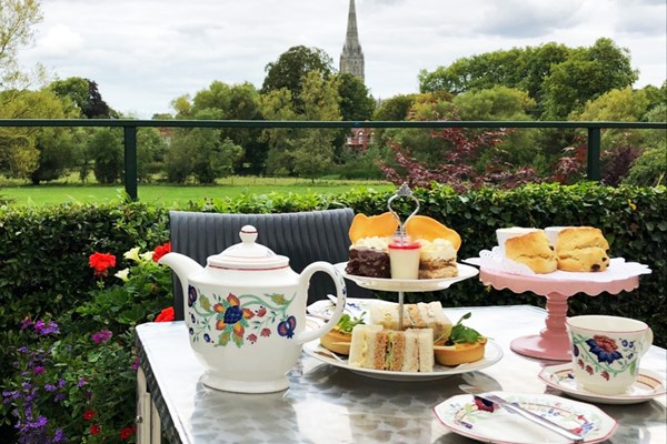 Afternoon Tea with Bubbles for Two at Grasmere House Hotel