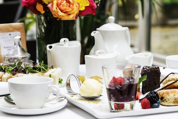 Afternoon Tea with Bubbles for Two at Ghyll Manor