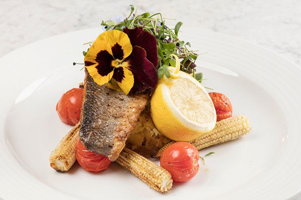 Three Course Meal with Wine at Crowne Plaza Edinburgh - Royal Terrace for Two