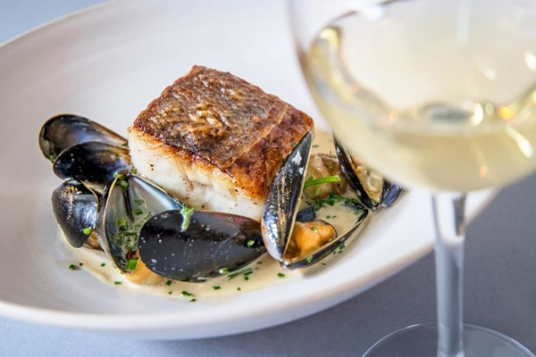 Five Course Meal with a Bottle of Wine for Two at Farmyard Restaurant