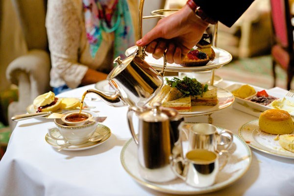 Champagne Afternoon Tea at The Grand Hotel for Two