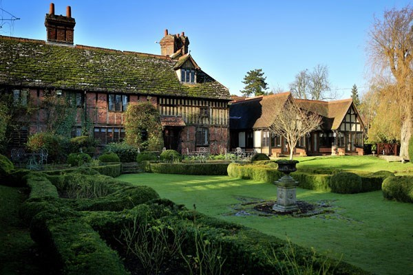 Champagne Afternoon Tea for Two at Langshott Manor
