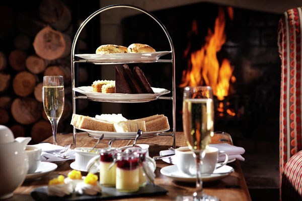 Luxury Afternoon Tea for Two at Langshott Manor