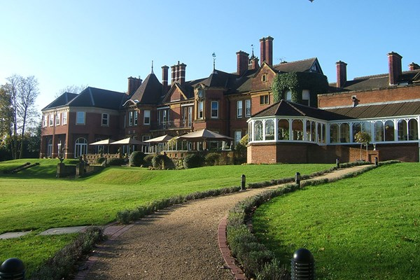 Overnight Stay with Dinner and Wine at Moor Hall Hotel and Spa for Two
