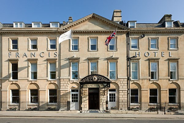 Overnight Break with Breakfast for Two at MGallery Francis Hotel Bath