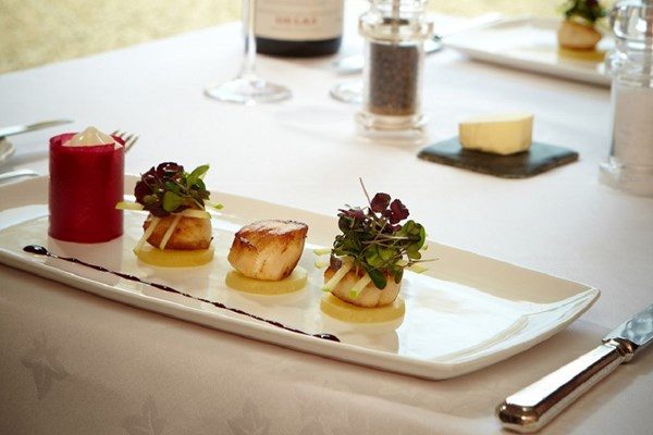 Seven Course Tasting Menu with a Glass of Wine at Esseborne Manor
