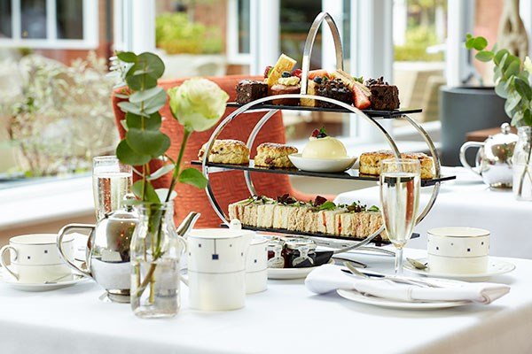 Afternoon Tea with Bubbles at The Bull Hotel for Two