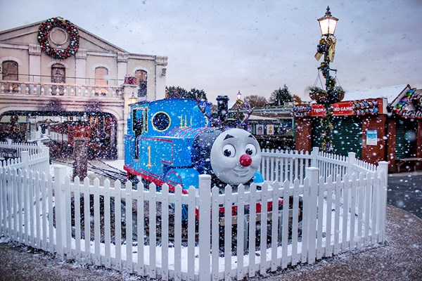 Magical Christmas for Two Adults and Two Children at Drayton Manor Park