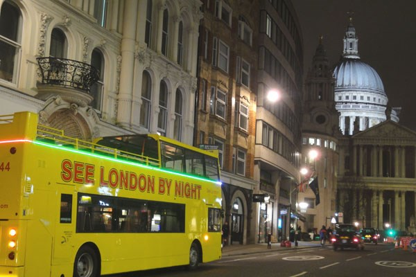 London at Night Sightseeing Tour for Two