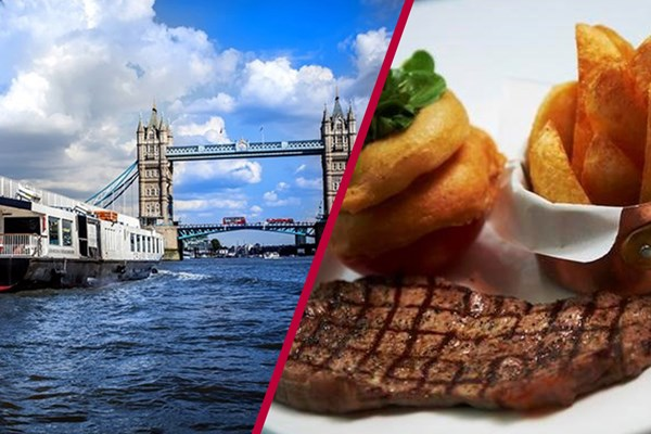 Three Course Meal for Two at Marco Pierre White and River Cruise