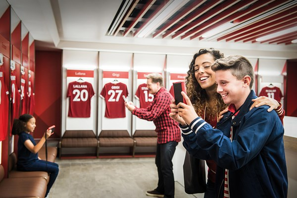 Liverpool FC Anfield Stadium Tour for One Adult and One Child with Museum Entry