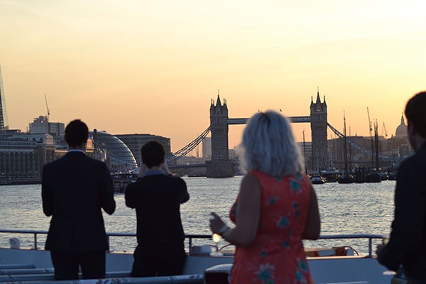 River Thames Cruise and Dinner with Elvis Tribute Act for Two