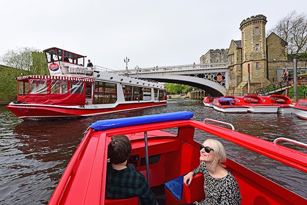 A One Hour City of York Motor Boat Hire