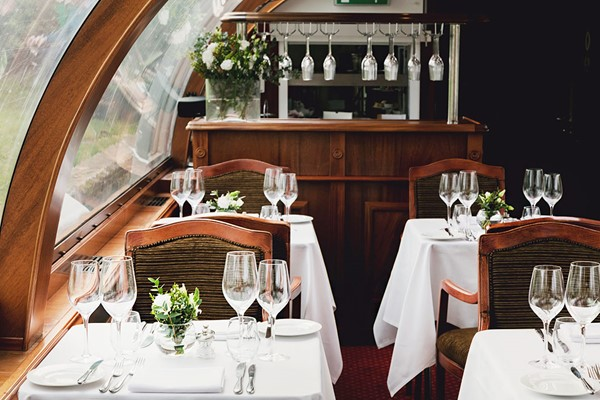 Bateaux Windsor Dinner Cruise on the Thames for Two