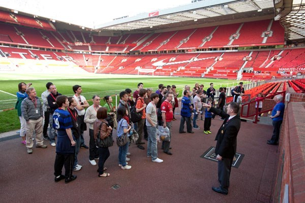 Old Trafford Manchester United Stadium Tour for One Adult and One Child
