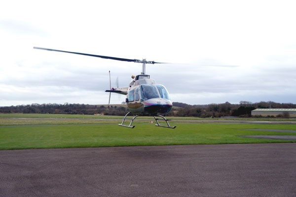 Five Minute Helicopter Flight for Two in Scotland