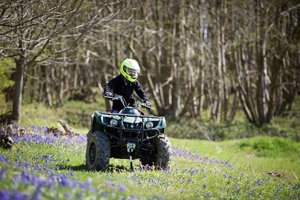 Two Hour Quad Bike Adventure for One in Kent